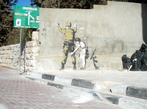 Banksy Bethlahem Jerusalem Jesus Year