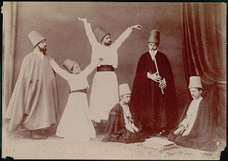 Whirling Dervishes in the late 1800s