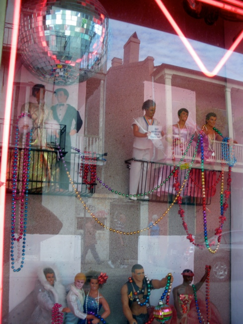 Mardi Gras new orleans doll house by chris koentges