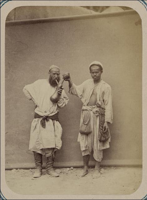 Folk festival at Ramadan (1865).